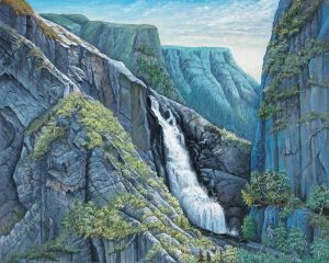 Splashing thru the Crags